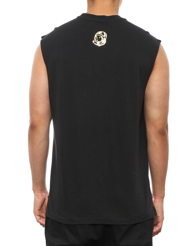 Arch Logo Muscle Tee Black/gold