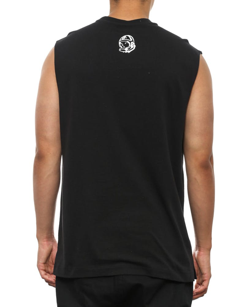 Arch Logo Muscle Tee Black/white