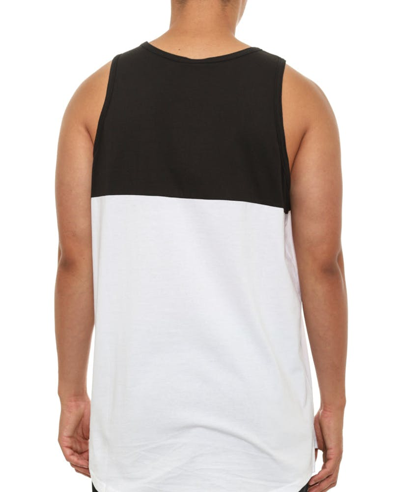 Defaced Bandit Tank Top Black/white