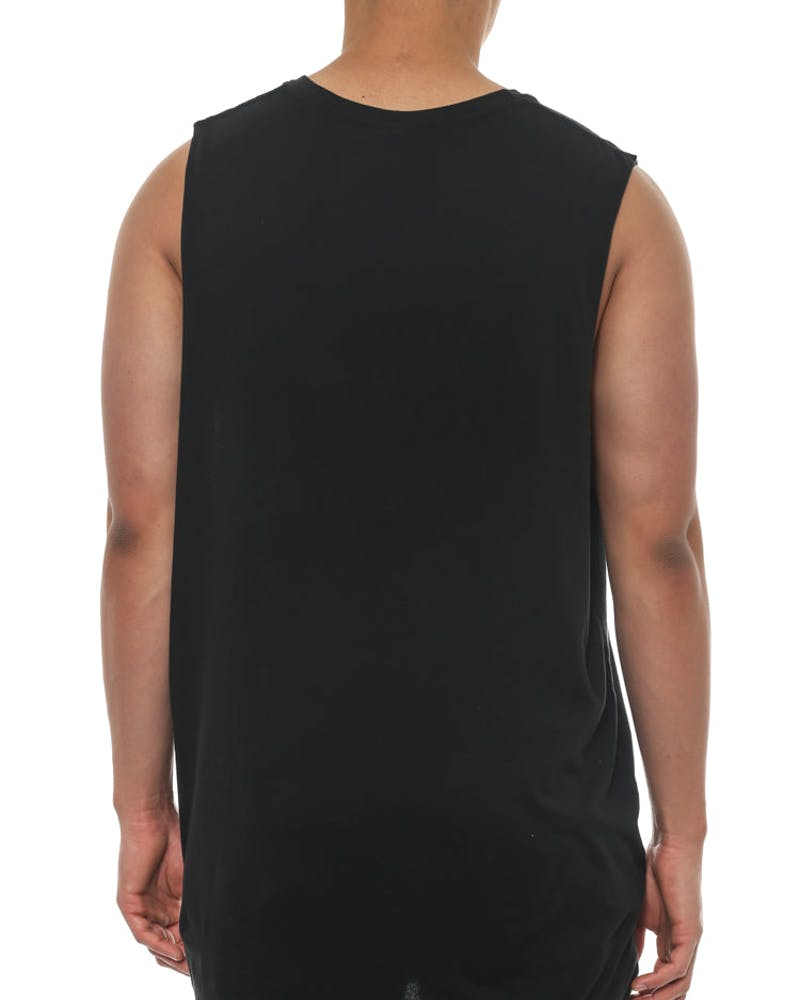 Nasty Icon Muscle Tee Black