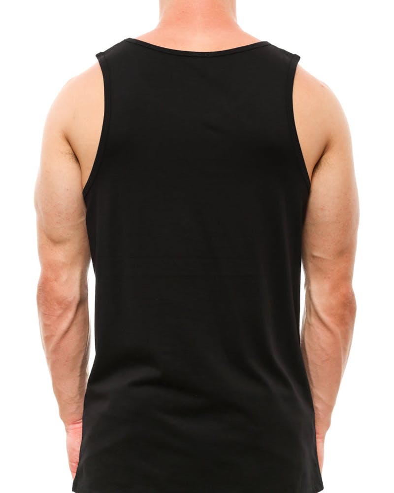 Lion Pocket Tank Black