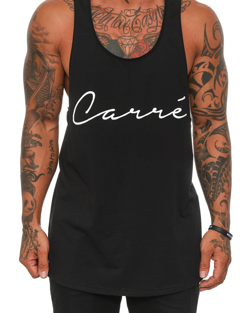 LA Script Reduction Singlet Black