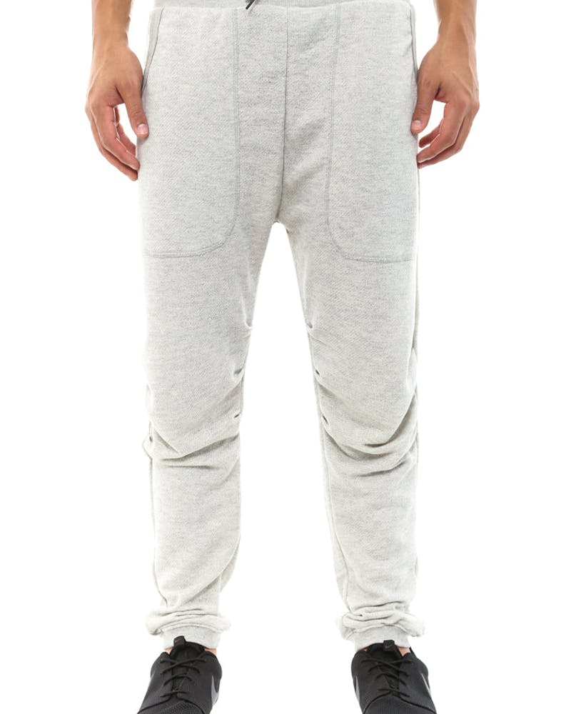 Kane Sweatpant Grey/black/teal