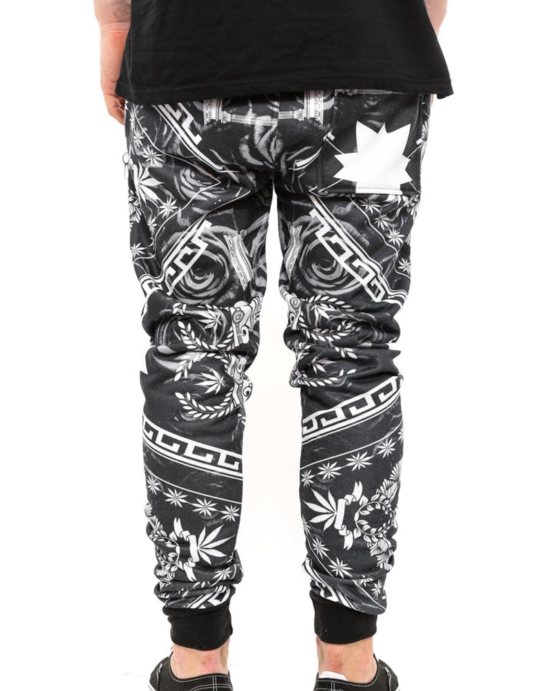Sublimated Pants White/black