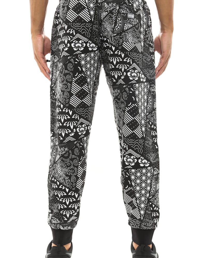 Fuji Bandana Sweat Pant Black
