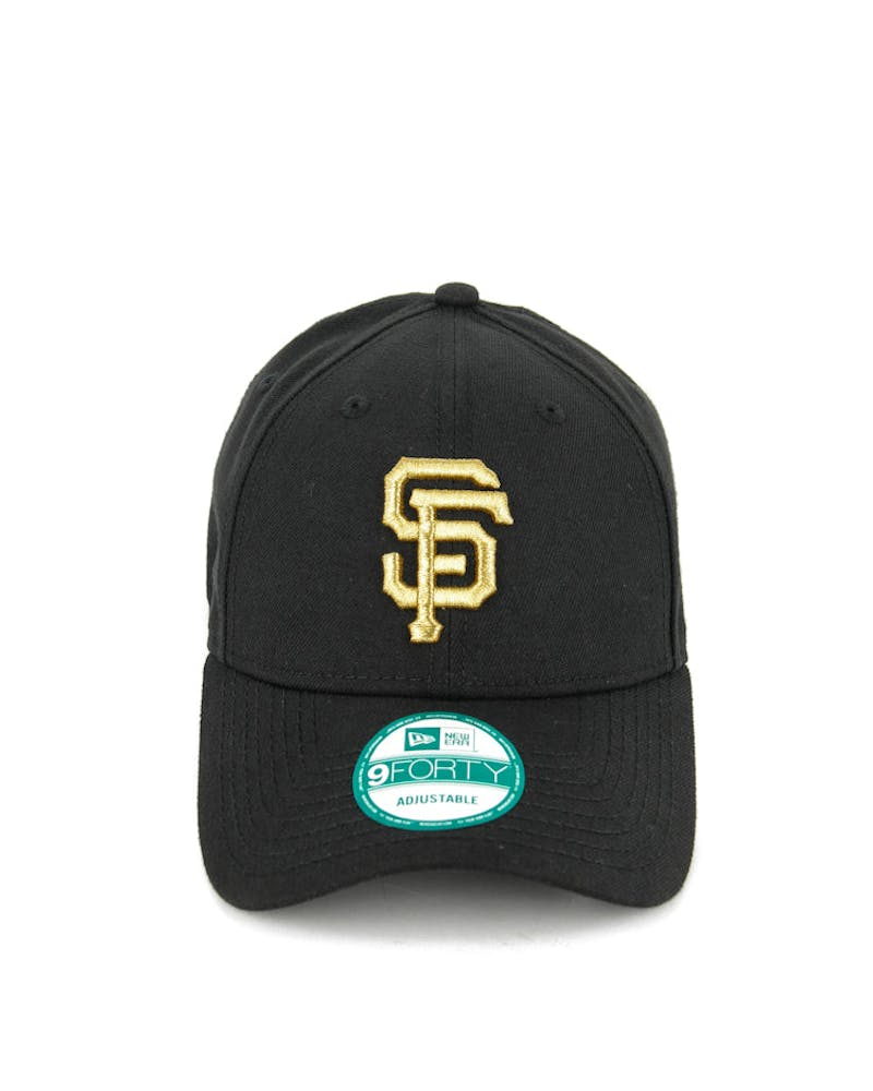 New Era Giants 9FORTY Met Gold ST Black/gold