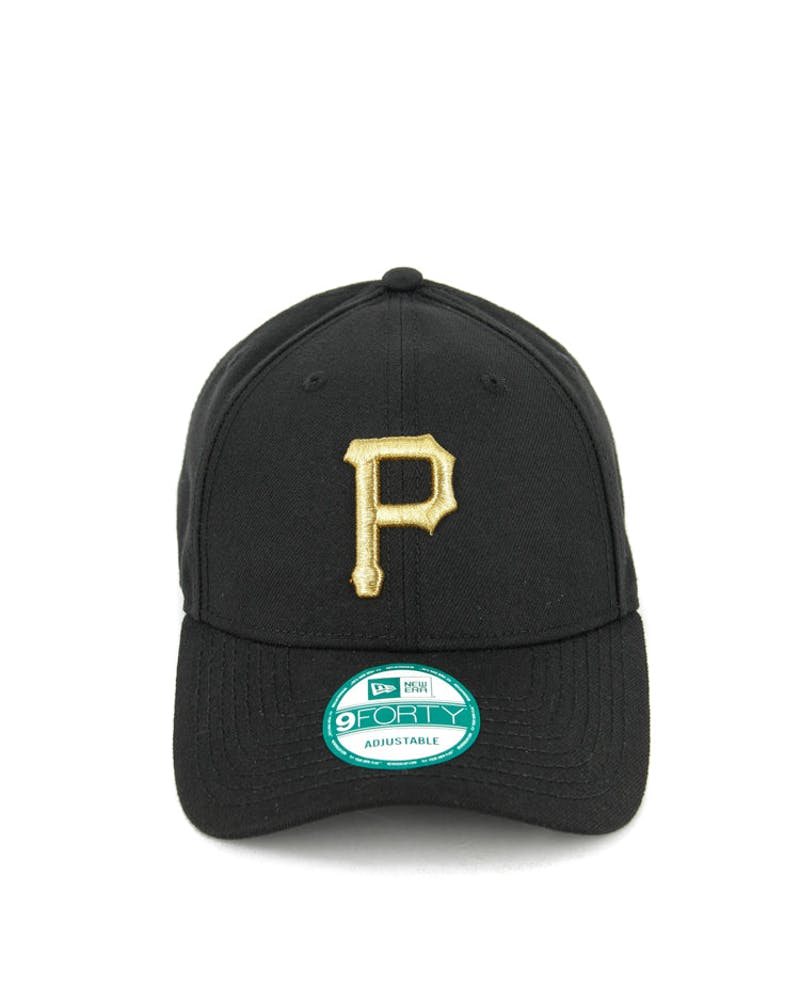 New Era Pirates 9FORTY Met Gold ST Black/gold