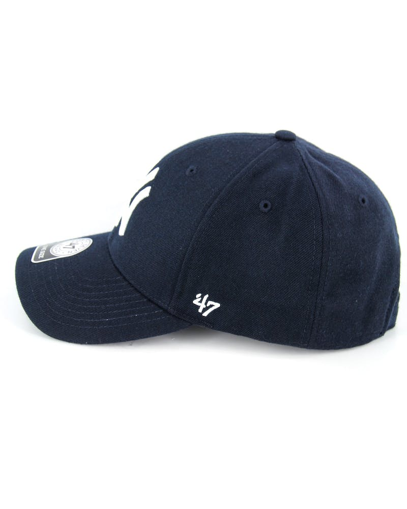 Yankees Mvp Velcro Back Navy/white