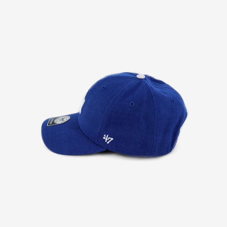 Dodgers Mvp Velcro Back Royal/white