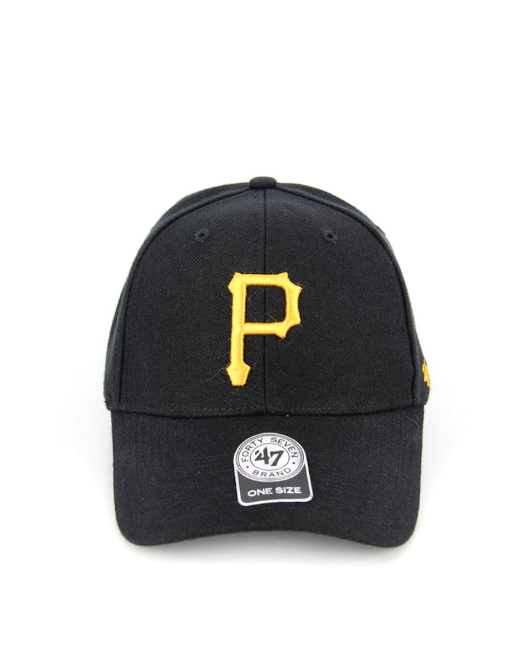 Pirates Mvp Velcro Back Black/yellow