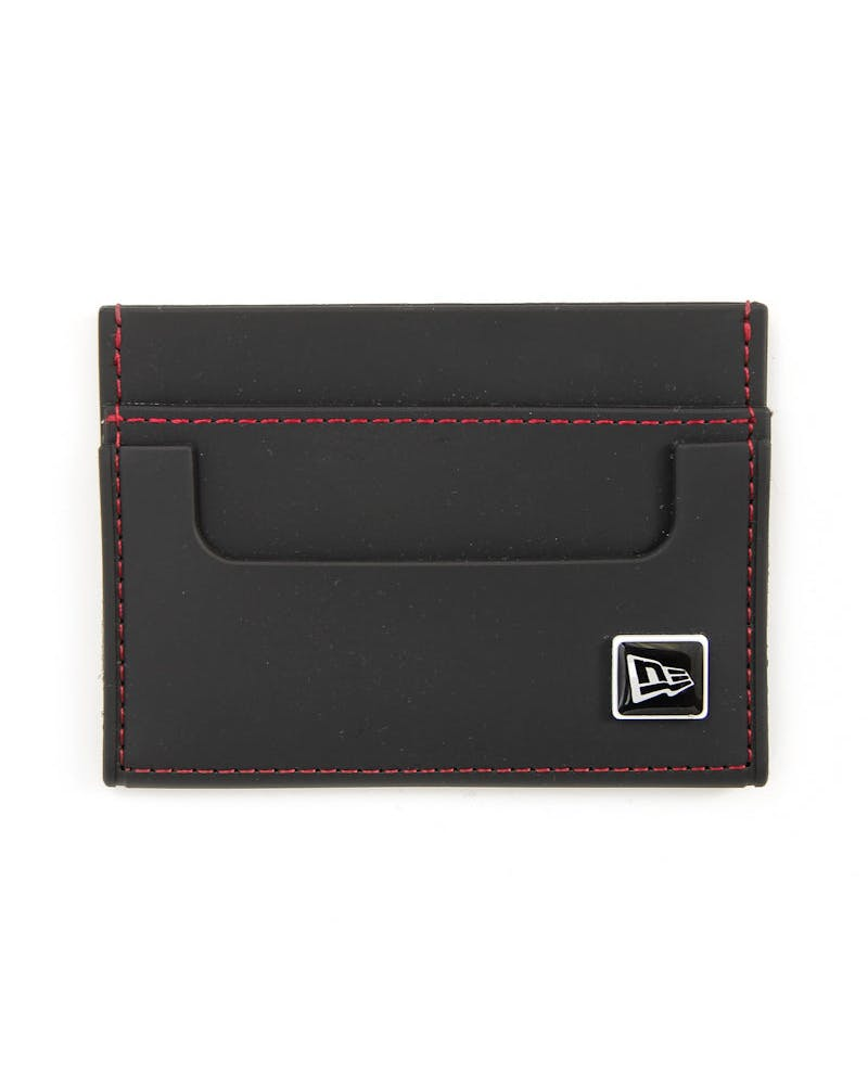 Rubber Card Wallet Black