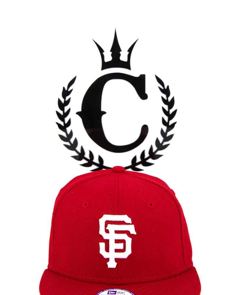San Francisco Giants Youth Snapback Scarlet/white