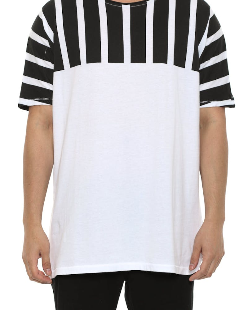 Lanes EZ Boy Tee White/black